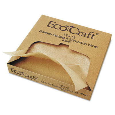 Bagcraft Papercon 174 Ecocraft 174 Grease Resistant Paper Wrap