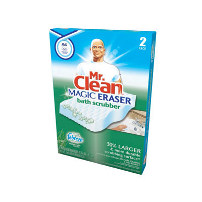 The Mr. Clean Magic Eraser Kitchen scrubber with Dawn removes 3X more greasy kitchen mess per swipe than the leading all-purpose bleach spray cleaner This cleaning scrubber is tough on dirt all around the house!/5().